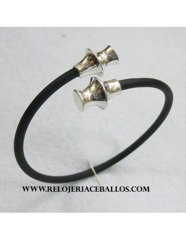 Pulsera Torques de plata  T18032N