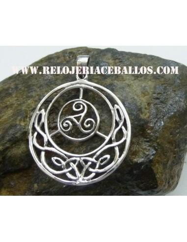 Triskel Colgante de plata 106-0094