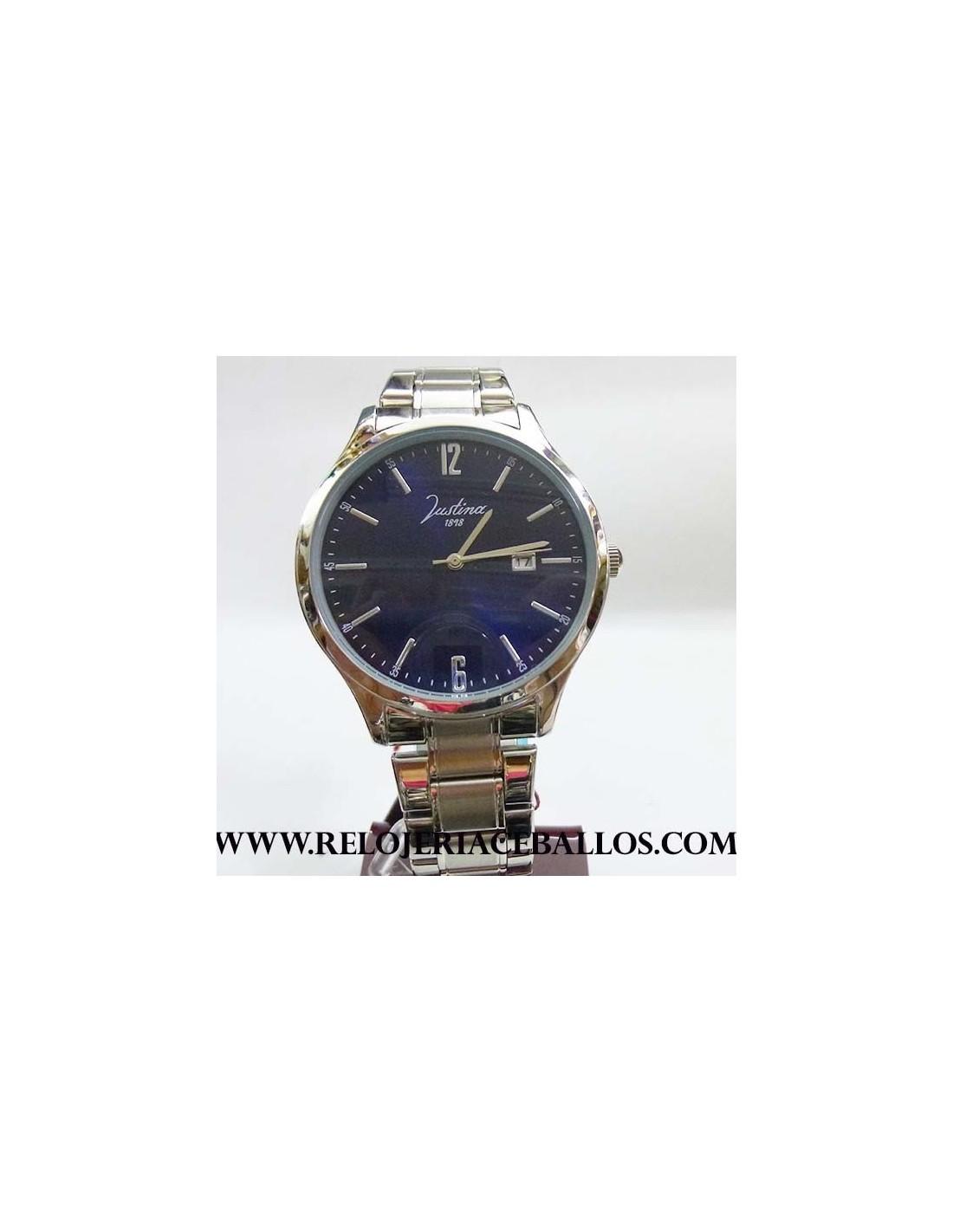 Justina reloj de caballero ref 11922a - Relojes justina precios ...