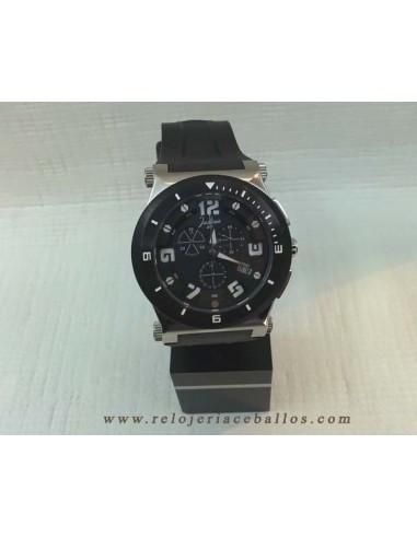 Cron metro reloj justina de caballero ref 11873n - Relojes justina precios ...