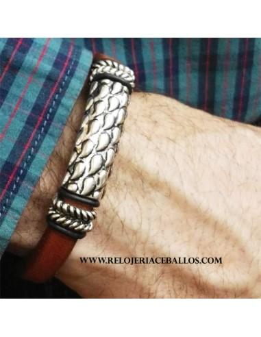 pulsera de caballero  A1637