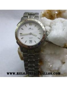 reloj justina de plata ref 25585