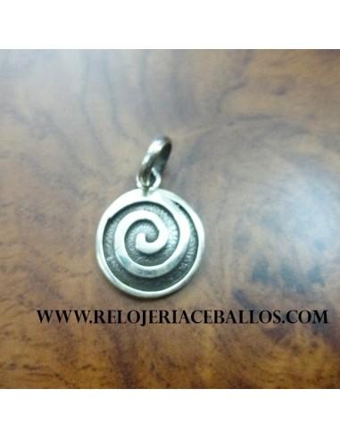 Espiral colgante de plataTQ3