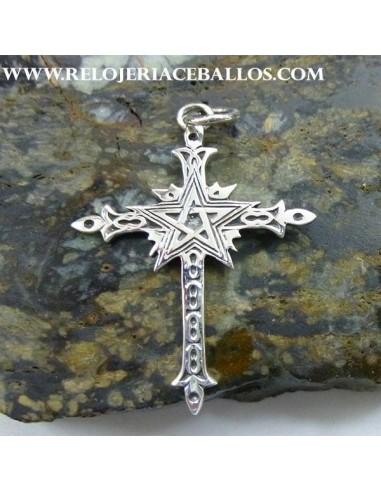 Cruz con Estrella de cinco puntas  102-0071
