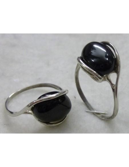 pendiente de plata y perla ref P2305