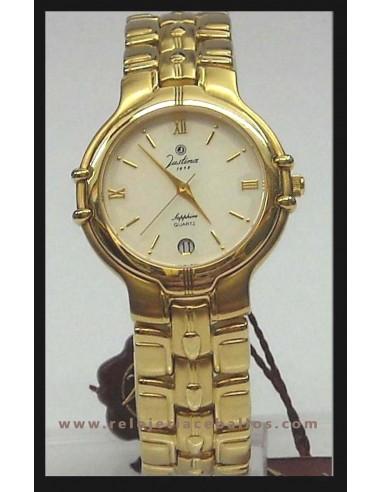 5e4e99bdff46 Comprar Reloj Justina de cuarzo unisex ref 13620