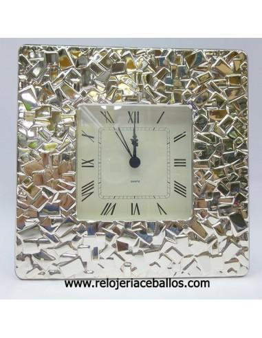 Reloj Despertador en plata 1ª ley ref 1M25