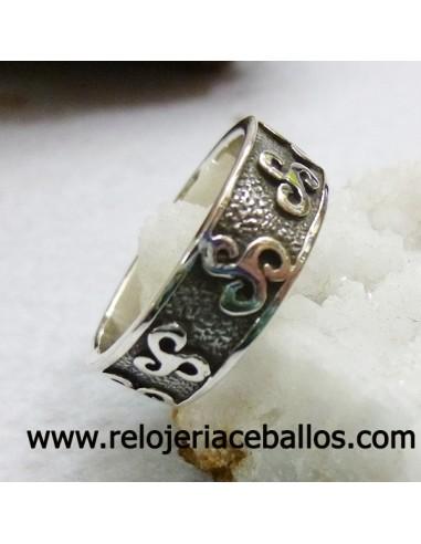 Triskel anillo celta ref 146-0007