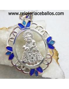 pendiente de plata bicolor ref PD31