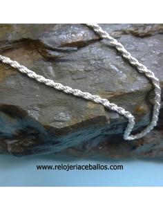 collar de olivina y plata ref AJ78