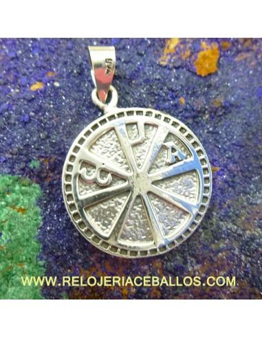colgante de plata ref 6116
