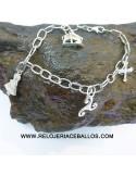 Virgen de Covadonga en anillo de plata ref JCELT3
