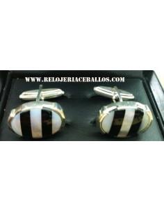 gemelos de plata ref GEM3