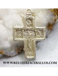 Cruz bizantina de plata BIZ1