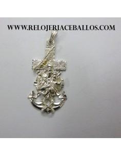 Cruz Marinera con Virgen del Carmen 1S38C