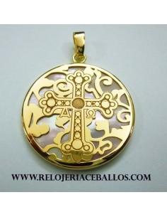 Cruz de la Victoria de plata chapada 23H53GY