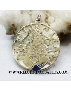 Medalla Covadonga plata 77002