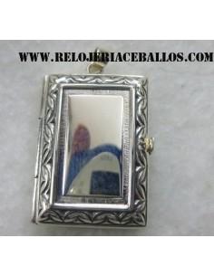 Guardapelo de plata 1738
