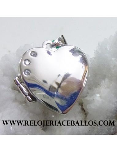 Relicario corazón  E12801
