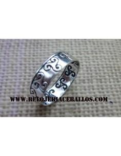 Anillo Triskel de plata  146-0001