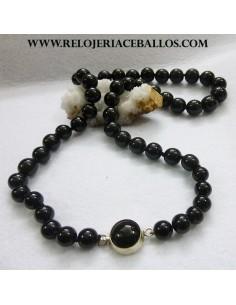 collar de azabache tradicional VAL8