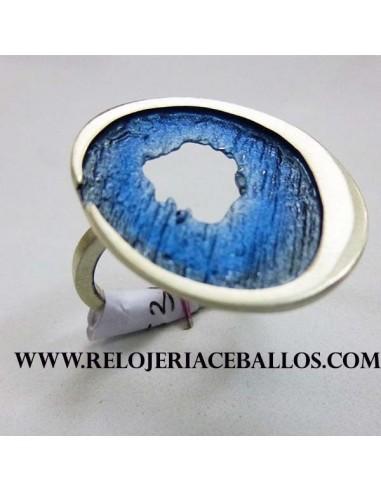 Joyas Orfega Sortija Ocaso Azul 113257