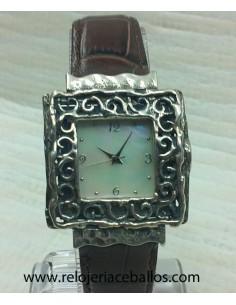 reloj artesano de plata ref...