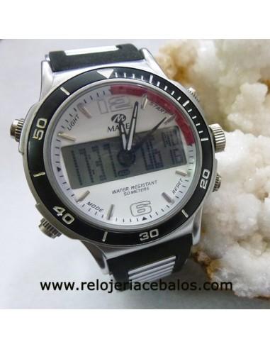 Marea reloj analógico y digital 35096/1