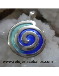 colgante Espiral celta 103-0036