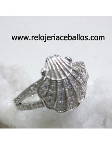 Sortija  Concha del peregrino ref 141-0004
