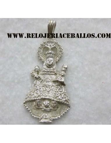 medalla Virgen de Covadonga de plata  R-140