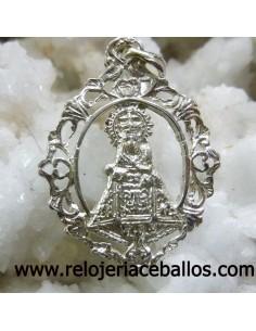medalla Virgen de Covadonga de plata  R-664