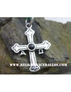 Cruz de la Victoria de plata y azabache  N9