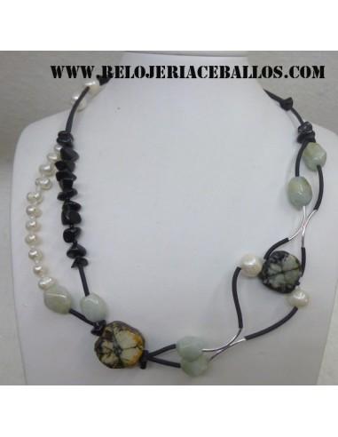 Collar de Quiastolita QG15