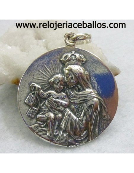 Escapulario medalla de plata ref 6421
