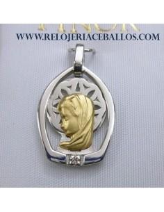 Medalla Finor Virgen Niña...
