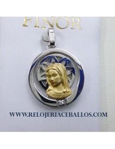 Medalla Virgen Niña F300-1
