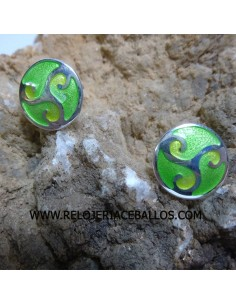 Trisquel esmalte pendientes ref CEL013