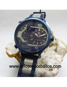 Marea reloj caballero triple horario ref B54088/5