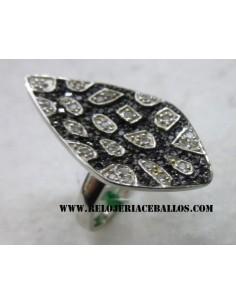 Anillo de plata y circonita 1AI83A