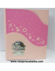 Álbum Niña polipiel rosa ref 1M74C