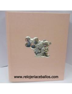 Álbum de polipiel rosa ref 1M26