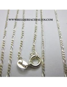 Cadena combinada 3x1 en plata ref BPNI50/40
