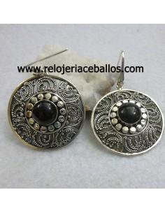 Azabache pendientes ref 620-0143