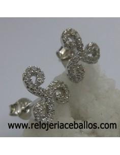 Triskel de plata con pedrería ref 127-0071