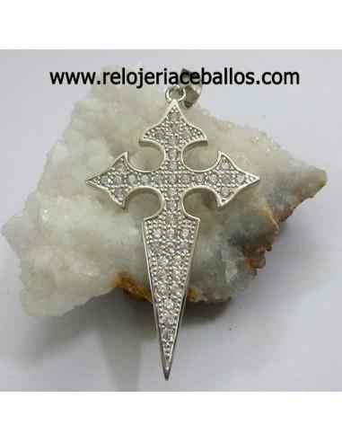 Cruz de Santiago pedrería ref 102-0159
