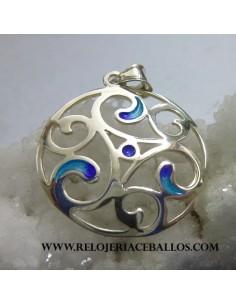 triskel celta en plata L02833