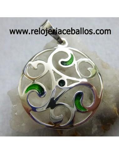 Triskel de plata L02845