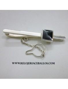 pasador de corbata de azabache BARRA1