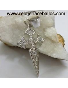 Cruz de Santiago de plata 102-0128